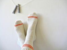 Cabinfour's Cream socks