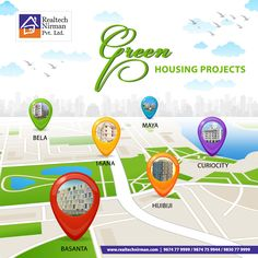 """When the rising air pollution levels in Kolkata is knocking the safety door of our health, """"REALTECH NIRMAN"""" is crafting the #SmartGreen city with an array of #housingprojects amidst the concrete jungle. """"REALTECH NIRMAN """" is re-building the 'green lifestyle' of Kolkata!"""