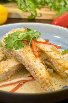 Ruedas de pescado con coco, una receta costera / Coconut milk fish a delicious and tropical seafood
