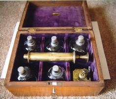 antique bloodletting kit - Scary stuff!