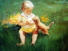 Painting Donald Zolan