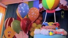 Decoración Cumpleaños Plaza Sesamo por Maeli