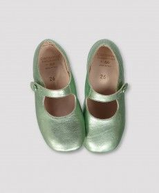 Pepe Otago Lime Dress Shoe from Caramel Baby & Child.