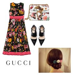 """""""Presenting the Gucci Garden Exclusive Collection: Contest Entry"""" by kenzie4ever11 on Polyvore featuring Gucci and gucci"""