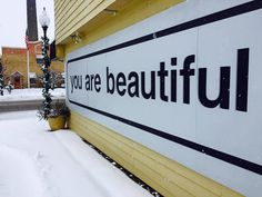 We can't get enough of these snowy #yabsticker pics!  Here's one of our installs up in Three Oaks Michigan