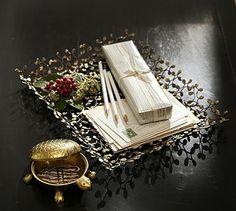 Gilt Leaf Tray #potterybarn