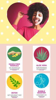 Aloe Vera, Detox Maske, Schaum, Fashion Beauty, Bubbles, Magic, Fashion Trends, Make A Donation, Organic Beauty