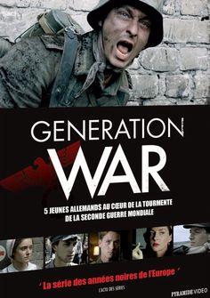"""++ """"Generation war"""" (2013)  -  """"Qualifiée de BOB allemand par ses défenseurs, jugée contestable par ses détracteurs, cette minisérie soignée ose un regard original sur l'Histoire. Elle donne vie à des héros embarqués dans un de ses plus obscurs chapitres, à travers un récit humain qui ne veut heureusement pas les disculper de leurs crimes et ne nous épargne rien de la monstruosité de la guerre"""". Telerama. Le 1er film de guerre allemand que je vois. Pas du tout manichéen. Acteurs extra. Clic…"""