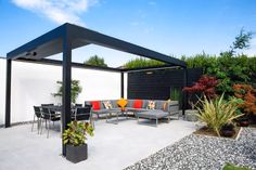 A pergola is essentially a garden structure that is much similar to the arbor. A pergola is something which will fall in that category. The Arched Pre. Diy Pergola, Louvered Pergola, Outdoor Pergola, Pergola Shade, Outdoor Decor, Pergola Roof, Canopy Outdoor, Patio Canopy, Metal Pergola