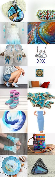 Сolors of summer sky by Zulfiya Zagidullina on Etsy--Pinned with TreasuryPin.com