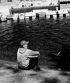 Teen Fisherman Yawning by Mariecor Agravante, on Fine Art America | FineArtAmerica.com | @writermariecor @fineartamerica