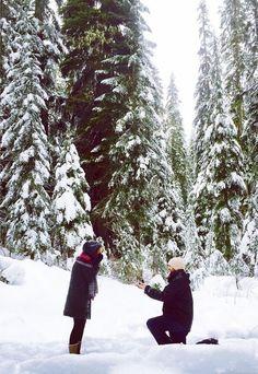 Winter Proposal, Beach Proposal, Romantic Proposal, Proposal Photos, Perfect Proposal, Romantic Weddings, Proposal Ideas, Surprise Proposal Pictures, Christmas Proposal