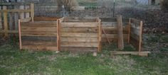 A budget friendly cedar compost bin built from cedar fence pickets.  An early spring project.
