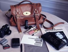 Mulberry Alexa bag: warn in warm leather