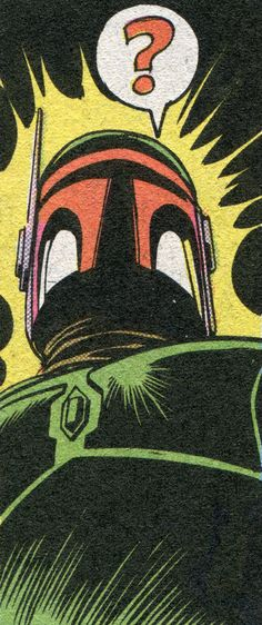 Classic Marvel Star Wars Comic Panel #boba #fett #star #wars