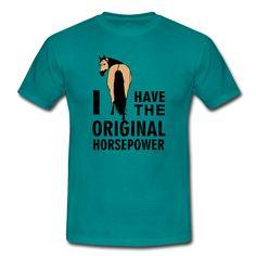 *Original Horsepower* Dein perfektes Shirt, Hoodie, Cap oder Accessoires für jeden Reiter mit einem lustigen Spruch oder Pferdemotiv. Hol dir dein cooles Lieblingsstück für dich oder als individuelles Geschenk für jeden Reiter und Pferdefreund..