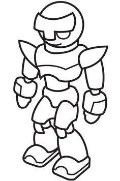 robot coloring pages Robot Coloring Pages For Kids Free Online