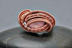Nicole Hanna: Over and Under Ring, Wire Jewelry Tutorial