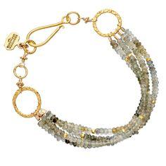 Buy Aquamarine Bracelet by Robindira Unsworth at Astley Clarke.com
