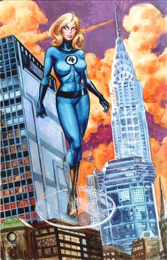 Invisible Woman:  Avengers, Fantastic Four, & Lady Liberators  Invisible Woman by Dan Brereton