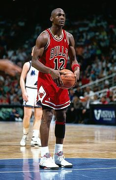 When Michael Jordan's jersey was stolen from the Bulls locker room in 1990, he wore No. 12 for 1 night.