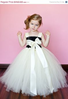 20+OFF+SALE+Harper+Flower+Girl+Tutu+Dress+by+TheLittlePeaBoutique,+$120.00