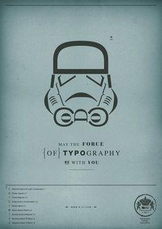 Star Wars in Typography | Think Vitamin