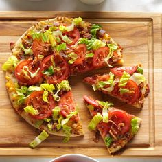 BLT Recipes from Taste of Home, including BLT Pizza Recipe