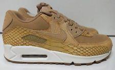 new style ead5f fbd9a Nike Air Max 90 Premium LTR Size 10 Vachetta Tan Mens Running Shoe  AH8046-200