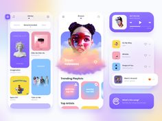 Music Player by Diana Medvedieva for Qubstudio on Dribbble