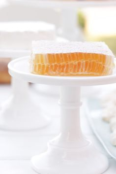 Great way to serve honey for a brunch
