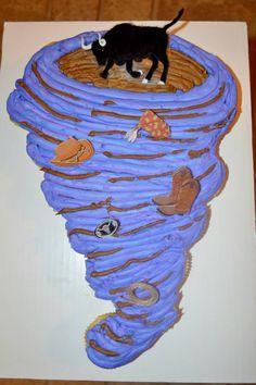 Tornado Cupcake Cake