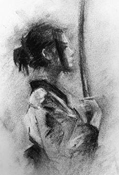 Charcoal Sketch by AATheOne.deviantart.com on @DeviantArt