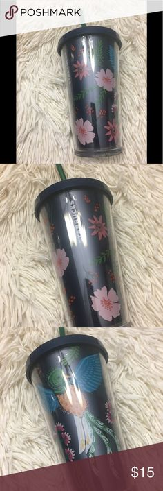 Cute Starbucks tumbler grande size Cold cup grande size from Starbucks Starbucks Other