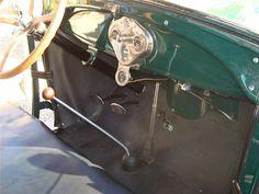 1928 Ford model A interior