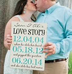#props {Etsy Spotlight} Engagement Session Props | The Pretty Pear Bride http://prettypearbride.com/etsy-spotlight-engagement-session-props/