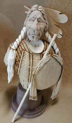 OutWestWoodCarving Lynn Doughty carves using mostly a five dollar utility knife. Wood Carving Patterns, Wood Carving Art, Wood Art, Wood Carvings, Haida Art, Indian Pictures, Wood Toys, Painted Rocks, Art Sketches