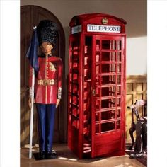 Authentic Replica British Telephone Booth Was: $2,999.00           Now: $2,250.00
