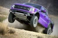 Ford raptor purple