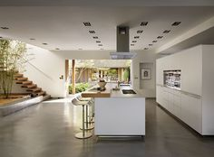 b3 bulthaup at Kitchen architecture  #bulthaup #kitchenarchitecture #kitchens - Courtyard house