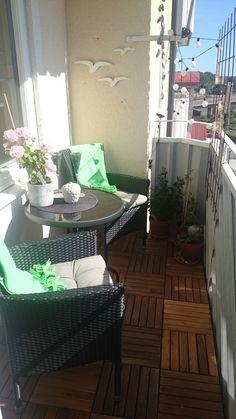 Min balkong, Sommaren 2015, Ronneby