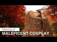 Maleficent Cosplay – Making of - YouTube