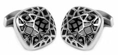 Domed & Caged Stainless Steel Cufflinks by Cuff-Daddy Cuff-Daddy. $49.99. Arrives in hard-sided, presentation box suitable for gifting.. Made by Cuff-Daddy. Save 62% Off!