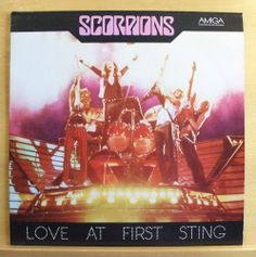 SCORPIONS - Love at first Sting - mint minus -Vinyl LP Rock you like a Hurricane