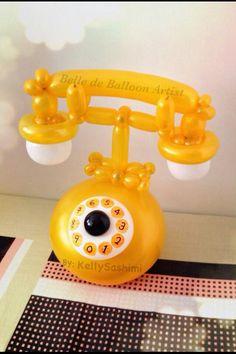 YELLOW and WHITE TELEPHONE...