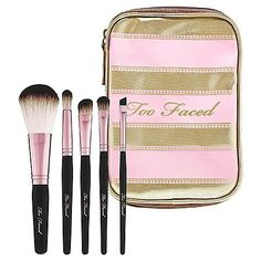 Too Faced teddy bear makeup brushes