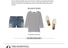 Love this article in The EDIT magazine! The EDIT is the ultimate modern, shoppable fashion magazine by NET-A-PORTER, the world's premier online luxury fashion destination. Available in the App Store now. http://appstore.com/theeditbynetaporter