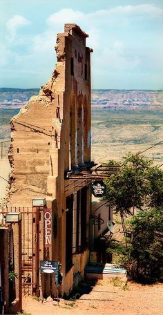 "Visit the once ghost town - Jerome, Arizona. An old copper mining town considered ""The wickedest town in the west"". Went from 15,000 people down to 50 so it has been considered a ghost town. It's way up in the mts at 5,200 ft."
