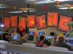 Titles for Autumn Library and Classroom Bulletin Boards and Displays