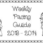 This is the BEST thing I've ever made to help keep me on track for each six weeks. This weekly pacing guide is in Word for easy editin. Kindergarten Curriculum Map, Curriculum Mapping, Classroom Discipline, Classroom Management, Legal Size Paper, Pacing Guide, Brownie Points, Classroom Setup, Track